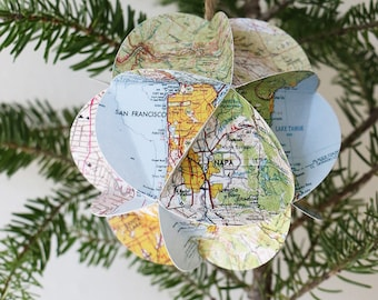 California Map Ornament // Holiday Gift