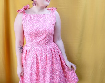 Pink Wildflower Dress - Only 5 Made!
