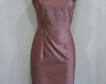 One Shoulder Satin Dress