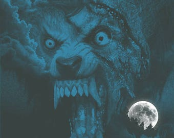An American Werewolf In London alternative movie poster