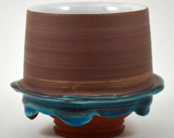 Ceramic Cup/ Whiskey Glass/ Ceramic Whiskey Glass/ Rocks Glass/ Ceramic Wine Glass/ Terracotta Cup/ Tumbler Cup/ Ceramic Tumbler