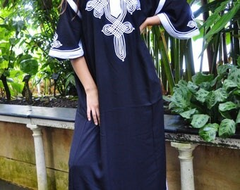 Kaftan, Caftan, Black Moroccan Kaftan Maxi Dress -Aziza -Beach Kaftan, wedding kaftan, maxi dress,