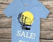 Birch tree Wisconsin - unisex t-shirt