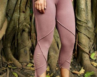 Croped Pixie Leggings ~ Organic Cotton
