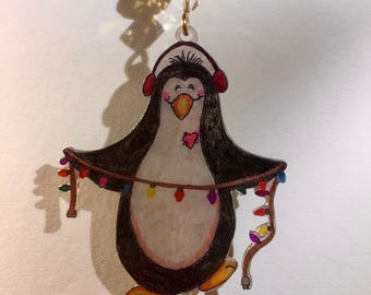 Penguin Christmas Ornament