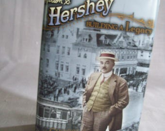 Tin Canister Building A Legacy Series #2 Milton S Hershey 1996