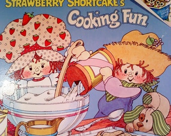 Strawberry Shortcake Book- Cooking Fun