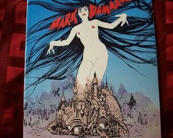 Gray Morrow Dark Domain Magazine Portfolio Artist Comic Art Drawings Unseen Private Sketches Punisher Epic Visionary Creepy Sci fi Horror