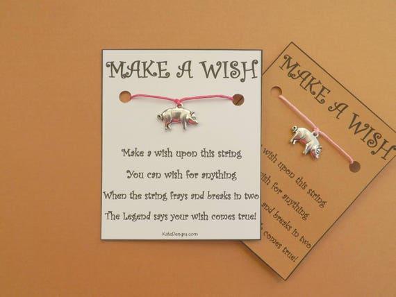 Pig Wish Bracelet