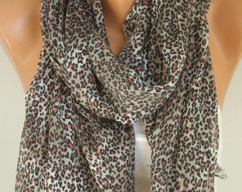 Leopard Scarf,Shawl,Women Fashion Accessories,Christmas gift Shawl, Gift Ideas For Her Women Fashion Accessories best selling item