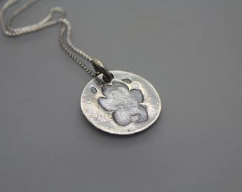 Cremation Necklace, Ashes Jewelry, Custom Cremation Jewelry, Cremation Paw Print, Custom Paw Print, Pet Loss, Memorial Necklace, Silver