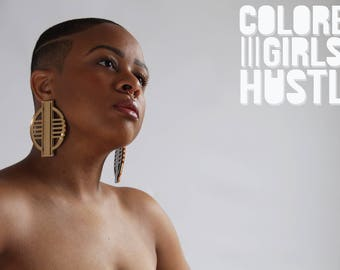 Expansion Earrings by Colored Girls Hustle