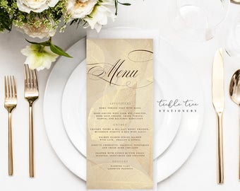 Menu Cards - Eagles in Flight (Style 13702)