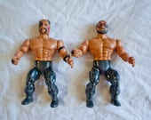 1985 The Road Warriors Wrestlers - Vintage Remco All Star - AWA Hawk & Animal Legion Of Doom