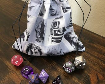 Star Wars Dice Bag, Dungeons and Dragons, D&D, DnD