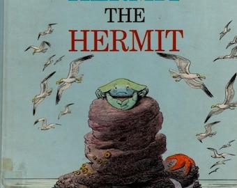 Bill Peet book, Kermit the Hermit, pirate treasure, childrens book, Bill Peet, animal story, buried treasure, pirate gold, rhyme book