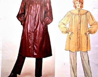 Vogue 2876 Paris Original, Givenchy Pattern, Misses Coat In Two Lengths, Size 10, UNCUT