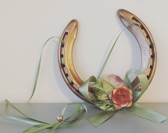 Sadie Rose Gold/Copper Lucky Wedding Horseshoe