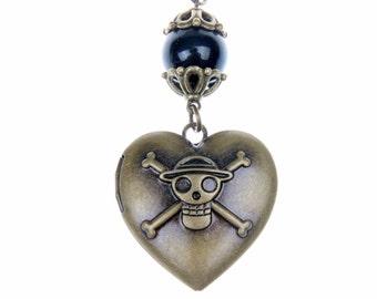 One piece Necklace locket