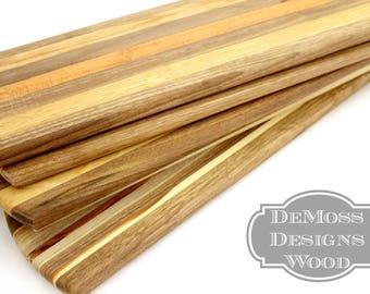 Serving/Bread Board, Wood Cutting Board, Narrow Long, Handmade, Bread Board, Baguette Board, Appetizer Serving, Wooden Cutting Board