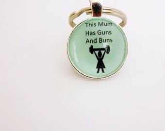 funny keyring,mom keyring,mum key fob,fitness keyring, funny mom key chain,fitness mom keyring,mom gift,mom present,gift for her