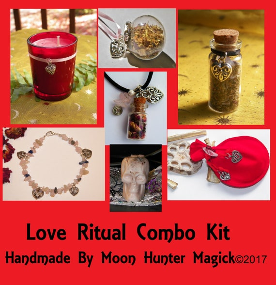 Love Magick Combo Kit Love Ritual Attraction Ritual Kit