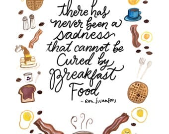 Ron Swanson -- Parks and Rec Quote