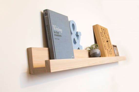 Unique Shelving floating picture ledge geometric shelving book shelf