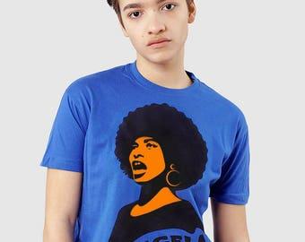 Angela Davis T-shirt - Black Power Activist Tshirt - ALLRIOT