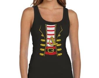 Pirate Halloween Costume - Women's Tank Top Vest