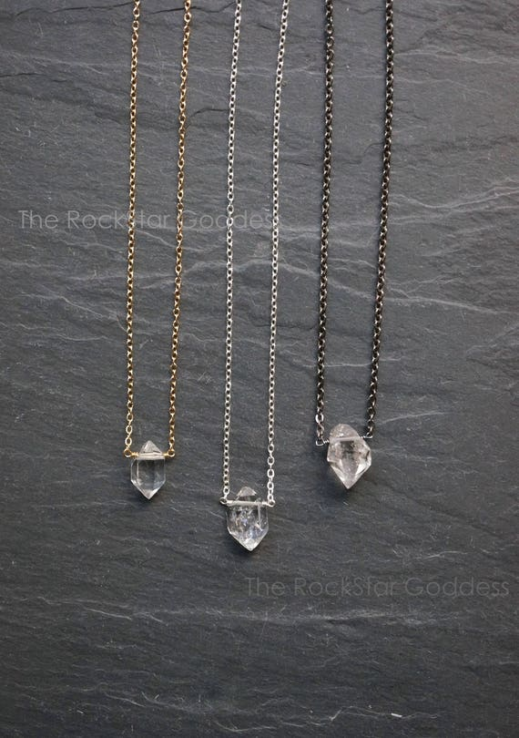 Herkimer diamond necklace herkimer diamond select diamond te gusta este artculo aloadofball Gallery