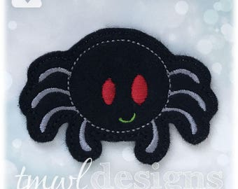 "Spider Feltie Digital Design File - 1.75"""