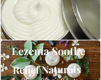 Eczema and Psoriasis Soothe Relief Naturals by Char's Creations Shea Body Butter Cream Salve Balm Moisturizer