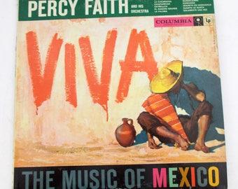 Percy Faith and His Orchestra Viva Vinyl LP Record Album CL 1075