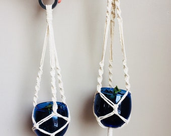 Macrame Hanging Planter - LITTLE