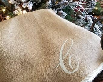 large christmas tree skirt coastal tree skirt french country christmasnautical holiday - Large Christmas Tree Skirts