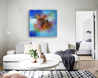 abstract painting / abstract art / wall art / original painting / acrylic painting / painting / large painting / modern art / Ready to hang