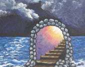 Keep Moving Forward Stair...
