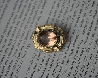 Antique Gold Filled Brooch - 1900s Edwardian Gold Filled Brooch