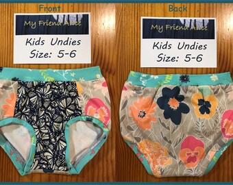 Kids undies, size 5-6, underwear, pants, panties, briefs