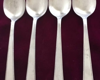 1865 Wm.ROGERS FMG. Co. XII Sectional Silverplate Set of 6 Teaspoons : wm rogers sectional - Sectionals, Sofas & Couches