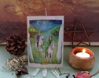 The Spirit Of Avalon Mini Print
