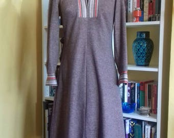 stylish 70's vintage dress