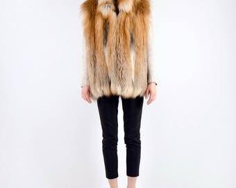 Real Fur Canadian |Lux Fox Fur Vest