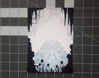 Nausicaa Ohm in the Toxic Forest Watercolor Print 5x7