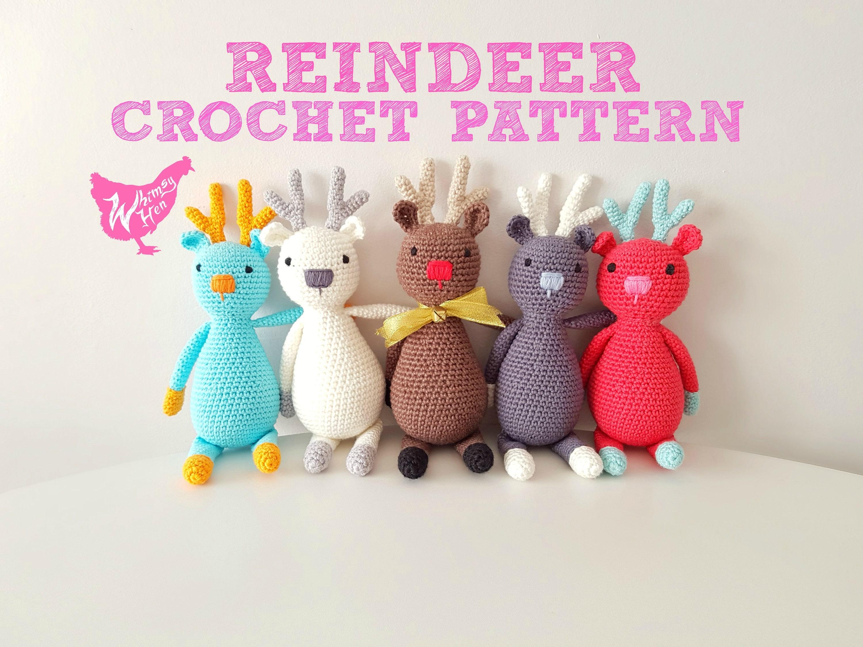 Crochet reindeer pattern amigurumi deer pattern christmas zoom bankloansurffo Choice Image