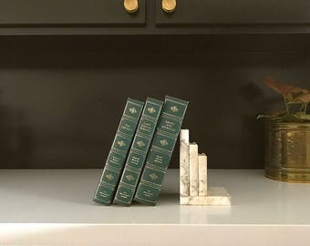 Alabaster Marble Bookend