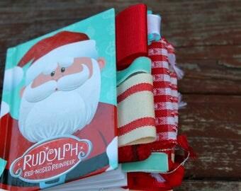 Santa Mini Altered Journal