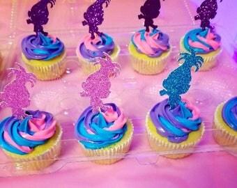 troll cupcake toppers, troll birthday, troll cupcakes, troll toppers, cupcake toppers, troll birthday, troll decorations