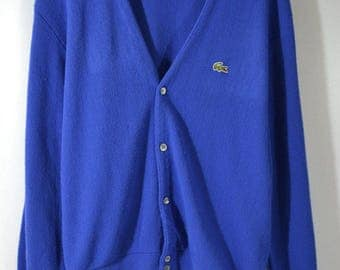 Royal blue cardigan   Etsy